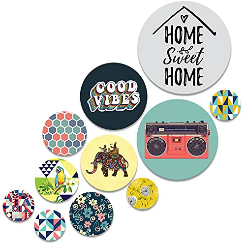 RAG28 Wooden Wall Decor Set of 11 (SPW7)