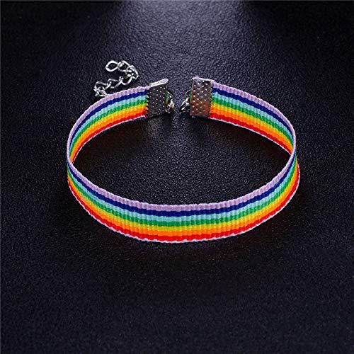 Paar Armbanden Zijn En Haar, Mode Regenboog Zeven-Kleur Armband voor Vrouwen Mannen Gay Pride Bedels Armbanden Sieraden Geschenken