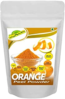nalAmudhu Natural Orange Peel Powder   Citrus Aurantium   Santra Chilka   100% Natural and Pure   For Skin Whitening and A...