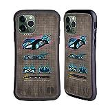 Head Case Designs Licenciado Oficialmente Batman DC Comics 1997 Película Historial de batmóviles Carcasa híbrida Compatible con Apple iPhone 11 Pro