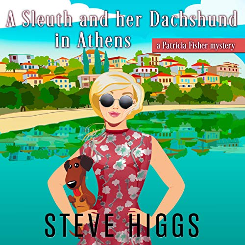 A Sleuth and Her Dachshund in Athens audiobook cover art