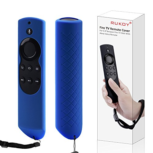 Rukoy Case for Fire TV or TV Stick Remote, Protective Case for 5.9'' Amazon Fire TV or Fire TV Stick Remote with Alexa Voice