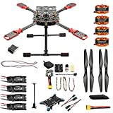 QWinOut J630 2.4GHz 4-Aixs Aviones DIY RC Multicopter ARF 630mm Marco Kit Radiolink Mini PIX+GPS...