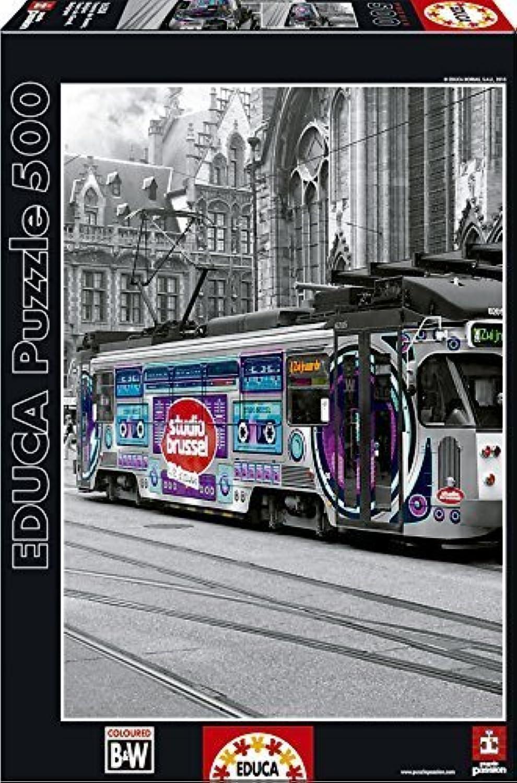 Ghent's Tram, Belgium - Educa 500 Piece Puzzle by Educa