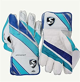 SG Hilite Wicket Keeping Gloves | Made from The Finest Genuine Leather and has All-Leather Palm Cuffs and Back