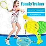 dewdropy - Pelota de tenis de ejercicio con autoaprendizaje