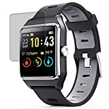 Puccy Privacy Screen Protector Film, compatible with ENACFIRE Smart Watch W2 1.3' smartwatch Anti Spy TPU Guard ( Not Tempered Glass Protectors )