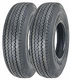 2 New ZEEMAX Heavy Duty Trailer Tires 205/90D15 / 7.00-15 8 Ply Load Range D - 11066