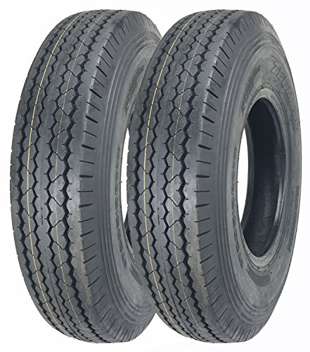 2 New ZEEMAX Heavy Duty Trailer Tires 205/90D15 / 7.00-15 8 Ply Load Range D - 11066