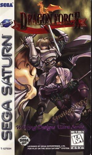 Dragon Force - Sega Saturn