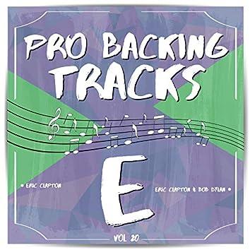 Pro Backing Tracks E, Vol.20