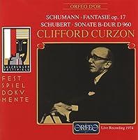 シューマン:幻想曲ハ長調 他 (Schumann: Fantasie C-Dur op.17, etc.) [Import]