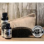 Beard Grooming Care Kit for Men by Mountaineer Brand   Beard Oil (2oz), Conditioning Balm (2oz), Wash (4oz), Brush… 3