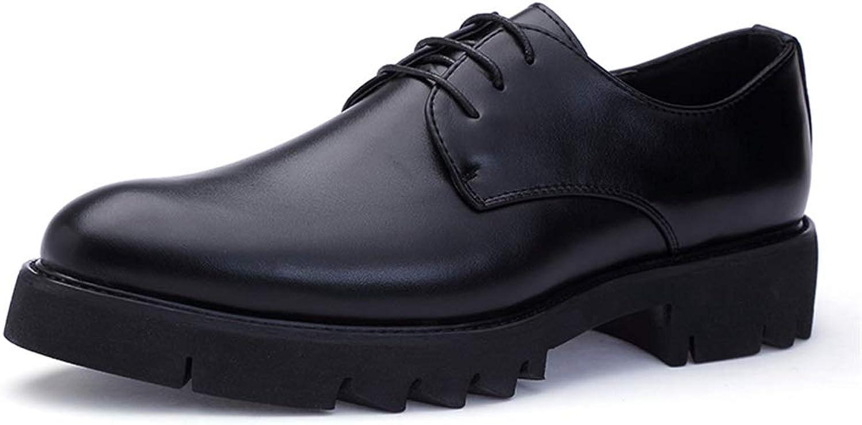 Herren Business Oxford Oxford Oxford Classic Round Toe Gummi-Außensohle Bequeme Formelle Schuhe,Grille Schuhe (Farbe   Schwarz, Größe   41 EU)  8a0f92