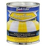 Dupli-Color Paint Shop Finish System Base Coat Chrome Yellow 32 Oz. Quart - Lot of 2