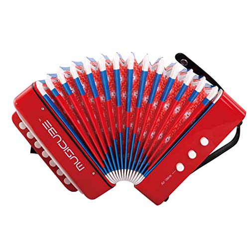 MUSICUBE 10 Keys Accordion, Accordion for Kids, Solo and...