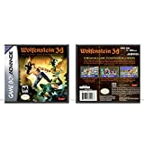Wolfenstein 3D   Gameboy Advance - Game Case Only