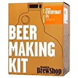 Brooklyn Brew Shop Everyday IPA Beer Making Kit: All-Grain Starter Set With Reusable Glass Fermenter, Brew Equipment, Ingredients (Malted Barley, Hops, Yeast)...