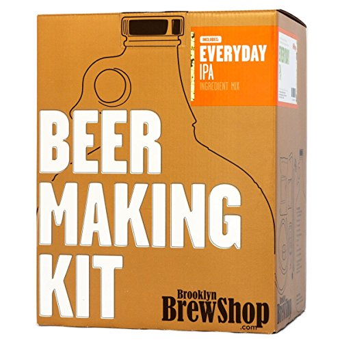 Brooklyn Brew Shop Everyday IPA Beer Making Kit, 1 Gallon