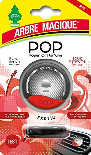 Arbre Magique Pop, Deodorante Auto, Fragranza Exotic, Profumazione Prolungata fino a 7 Settimane