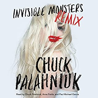 Invisible Monsters Remix audiobook cover art