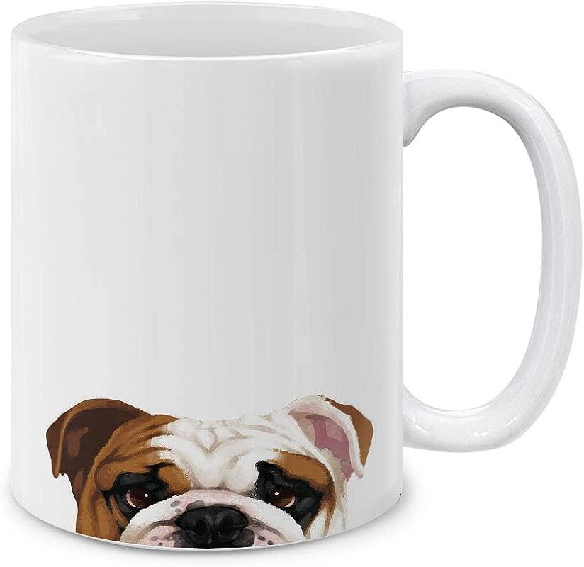 MUGBREW English Bulldog Ceramic Coffee Gift Mug Tea Cup 11 OZ