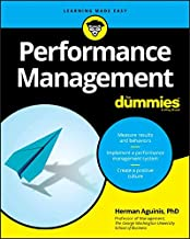 Performance Management For Dummies (For Dummies (Business & Personal Finance))