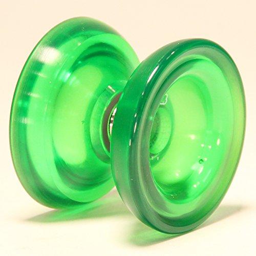 Magic YoYo SKYVA Yo-Yo Polycarbonate Plastic Jeffrey Pang Design (Translucent Green)