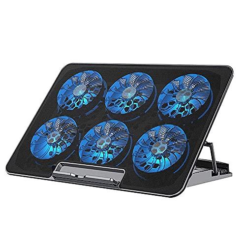 冷却ファン ノートパソコン 冷却台 パソコン クーラー ノート pcクーラー 強冷 超静音 USBポート2口 USB接続 macbook...