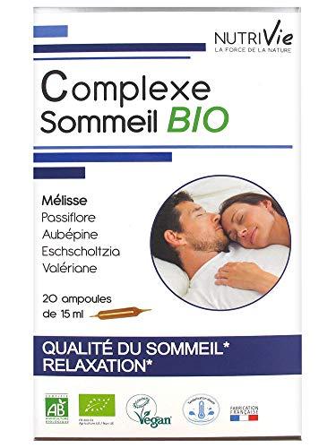 Nutrivie Schlafkomlex Bio 20 Ampullen
