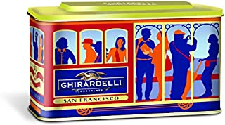 Ghirardelli San Francisco Cable Car Gift Tin, 8.26 Ounce (Pack of 6)