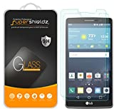 (2 Pack) Supershieldz Designed for LG (G Vista 2) Tempered Glass Screen Protector, Anti Scratch, Bubble Free
