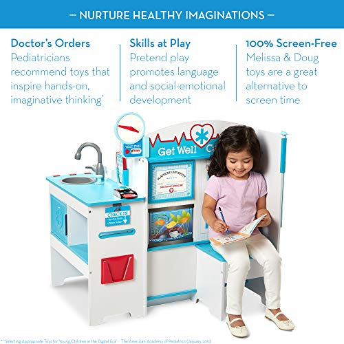 The Get Well Doctor Activity Center is an award-winning toy for preschool-aged boys