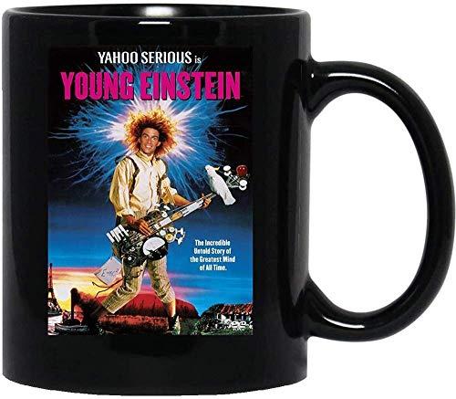 N\A Young Einstein Australia Comedia Cultura Pop Yahoo Serious Cerámica Tazas Tazas