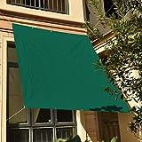Nice Home(ナイスホーム) 撥水 95%UVカット 300D高品質防水ポリエステル シェード オーニング 180×240cm グリーン