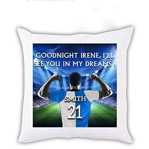i-Tronixs PERSONALISED Name and Jersey Number Football Club Cushion Cover for Sofa Couch Bed Customized Cover Pillow All Teams - 13 Bristol Rovers
