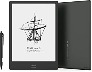 """BOOX Note2 10.3"""" E-reader, Tocco con Stilo, Luce Integrata, 4GB + 64GB, Android 9.0 E-ink, 4300mAh OTG Wi-Fi BT"""