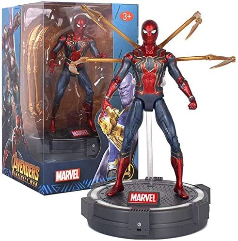 Max 64% OFF RSWLY Toys - Avengers 3 4-7 Iron Spider inch Man Captain price America