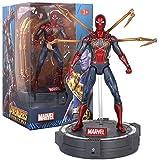 Yxsd toy model Juguetes – Avengers 3/4-7 pulgadas Capitán América/Iron Man/Spider Man/Black Panther/Thor, Ms. – Joint Movable – Colección de regalo de cumpleaños para niños (color: Iron Spider Man)