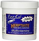 Rep-Cal 52299 SRP00300 Herptivite Multivitamin and Mineral Powder Reptile/Amphibian Supplement, 3.3 oz
