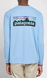 Patagonia(パタゴニア) ロンT P-6 Logo Responsibili 水色