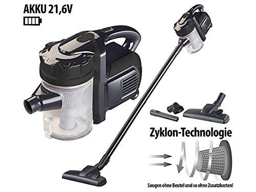 Haushaltsgeräte 2 in1 batería – Aspirador ciclónico BHS 300. AK con 2 accesorios, 21,6 V: Amazon.es: Hogar