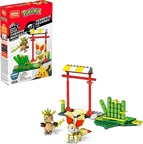 Mega Construx Chespin Vs. Fennekin Pokemon Toy