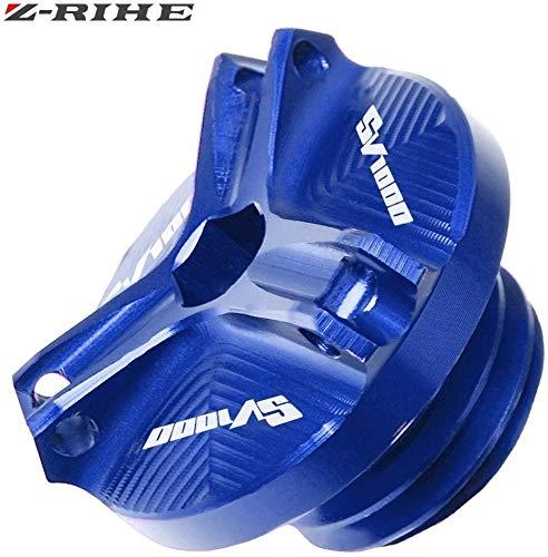 ASDZ Praktisches Motorrad Zubehör for Suzuki SV650 SV 650 S SV1000 SV 1000 Motorrad-Zubehör for SV 1000 Motorölablassschraube Sump Nut Cup-Stecker-Abdeckung SV1000, Gute Qualität