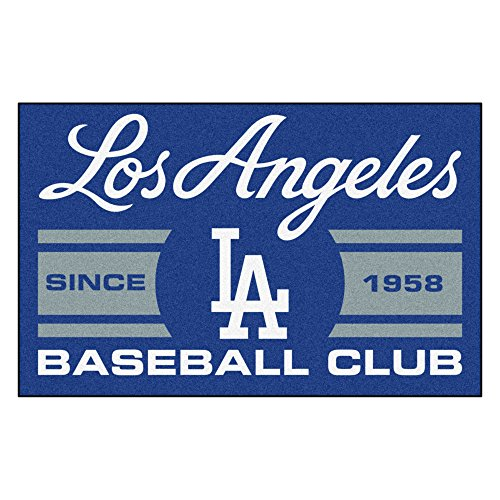 FANMATS 18472 Los Angeles Dodgers Baseball Club Starter Rug