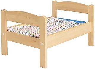 comprar comparacion IKEA DUKTIG - cama Doll-s con juego de ropa de cama, pino, multicolor