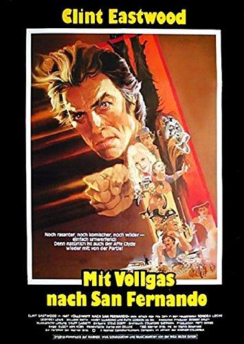 Mit Vollgas nach San Fernando: A (1980) | original Filmplakat, Poster [Din A1, 59 x 84 cm]