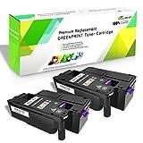Cartucce toner compatibili 2 Nero 6020 6022 6025 6027 6028 VICTORSTAR 1000 pagine per Xerox Phaser 6020 6022 WorkCentre 6025 6027 6028 Stampanti laser