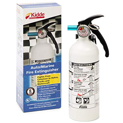 2 Set KID21006287MTL - FX511 Automobile Fire Extinguisher