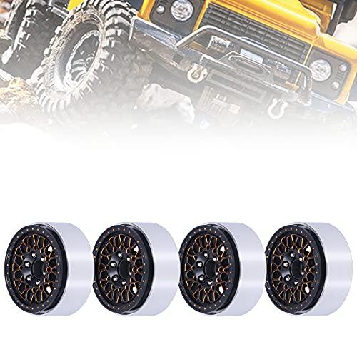 Eulbevoli Bujes de Rueda RC de 4 Piezas, Accesorio de Rueda RC Que Aumenta la Estabilidad del Coche RC para Piezas de Control Remoto para/Hsp/Redcat / Scx10 1/10 RC Car